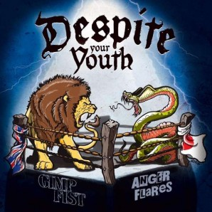 Gimp Fist & Anger Flares 'Despite Your Youth - Split'  12""