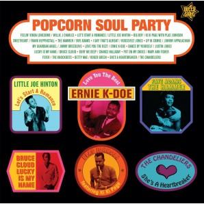 V.A. 'Popcorn Soul Party - Blended Soul And R&B 1958-62'  LP