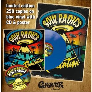 "Soul Radics 'Radication' Blue Vinyl 10""+CD+Poster"