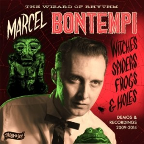 """Marcel Bontempi 'Witches, Spider, Frogs & Holes'  LP+7"""""""