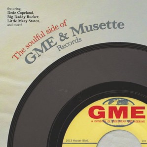 V.A. 'The Soulful Side Of GME & Musette Records'  LP+mp3