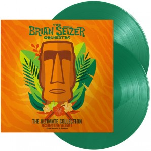 Brian Setzer Orchestra 'The Ultimate Collection - Recorded Live Vol. 1' 2-LP green vinyl
