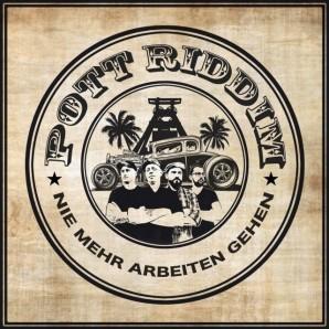 Pott Riddim 'Nie mehr arbeiten gehen' LP ltd. green/yellow vinyl