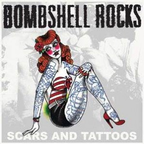 "Bombshell Rocks 'Scars & Tattoos' + 'Looking For A Hero'  7"" + mp3"