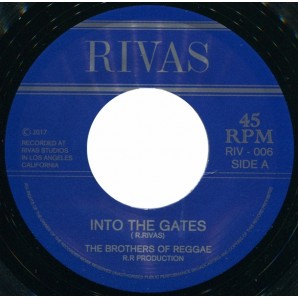 "Brothers Of Reggae 'Into The Gates + Sweet Like You'  7"" *Aggrolites*Roger Rivas*"