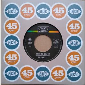 "Brunetta 'Baluba Shake' + Rita Pavone 'Il Geghege'  7"""