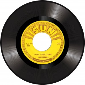 """Perkins, Carl 'Gone, Gone, Gone' + 'Let The Jukebox Keep On Playing' 7"""""""