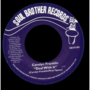 Franklin, Carolyn 'Sunshine Holiday' + 'Deal With It'  7""
