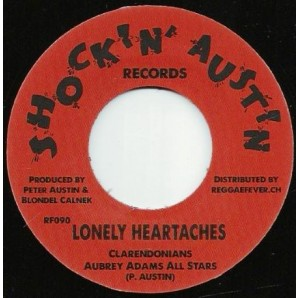 Austin, Peter & The Clarendonians 'Lonely Heartaches' + Larry Marshall & Peter Austin 'Money Girl'  7""
