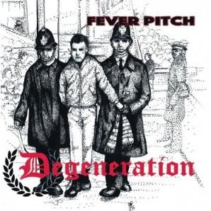 """Degeneration 'Fever Pitch EP'  7"""" +mp3 ltd. clear/black/red splatter vinyl"""