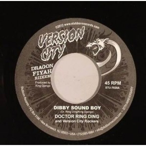 Dr. Ring-Ding 'Dibby Sound Boy' + Dave Hillyard 'Dragon Fiyah'  7""