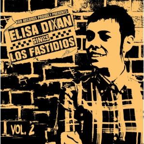 """Elisa Dixan & Los Fastidios 'Elisa Dixan Sings Los Fastidios Vol. 2'  7"""""""