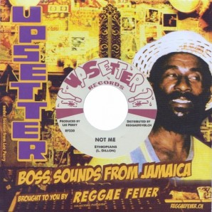 """Ethiopians 'Not Me' + King Cannon 'Fire Ball'  7"""""""