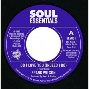 Wilson, Frank 'Do I Love You' + 'Sweeter As The Days Go By'  7""