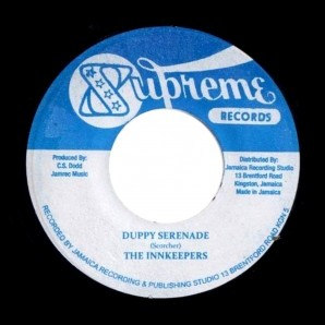Inn Keepers feat. Dennis Alcapone 'Duppy Serenade' + Sound Dimension 'Lovers Serenade'  Jamaica 7""
