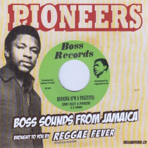 """Jimmy Riley + Pioneers 'Running (I'm A Fugitive)'  7"""""""