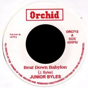 """Junior Byles 'Beat Down Babylon' + Upsetters 'Version'  7"""""""