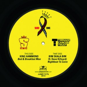"King Hammond 'Bead & Breakfast Man' + Bim Skala Bim feat. Dave Hillyard 'Nightboat To Cairo'  7"" ltd. clear vinyl"