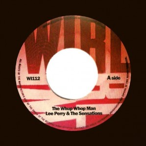 Perry, Lee & The Sensations 'The Whup Whop Man' + 'Run For Cover'  7""