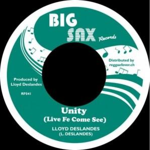 "Deslandes, Lloyd 'Unity (Live Fe Come See)' + 'Unity Dub'  7"""