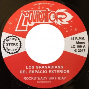 Los Granadians 'Rocksteady Birthday' + 'Mentirosa'  7""