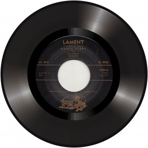 Perry, Mamie 'Lament' + 'Love Lost' 7""