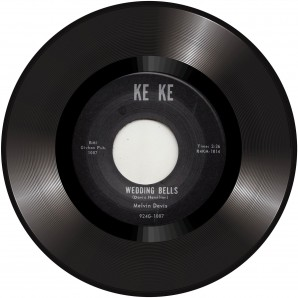 Davis, Melvin 'Wedding Bells' + 'It's No News' 7""