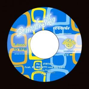 "No. 1 Station 'Friday Night' + Drastics feat. MC Zulu 'Here Comes The Bass'  7"""