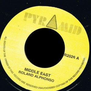 Alphonso, Roland 'Middle East' + 'Jungle Bit'  7""