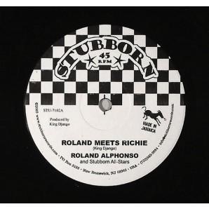 "Alphonso, Roland & Stubborn All-Stars 'Roland Meets Richie'  7"""