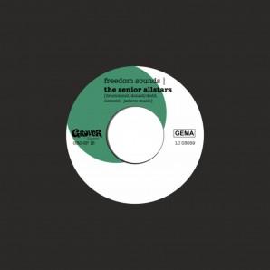 "Senior Allstars 'Freedom Sounds' + 'Freedom Dub'  7"" ltd. black vinyl"