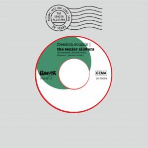 "Senior Allstars 'Freedom Sounds' + 'Freedom Dub'  7"" ltd. red vinyl - silk screen sleeve"