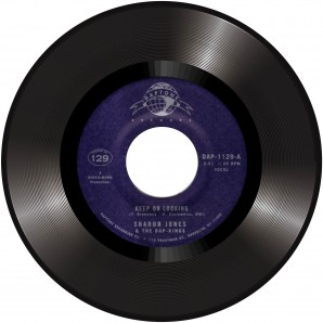 Jones, Sharon & The Dap-Kings 'Keep On Looking' + 'Natural Born Lover (Instr)'   7""
