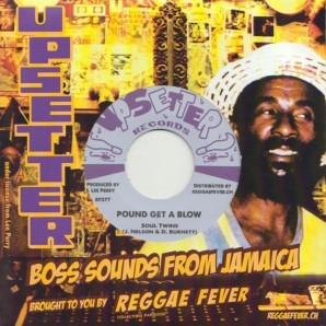 """Soul Twins 'Pound Get A Blow' + Roland Alphonso + Upsetters 'Roll On'  7"""""""