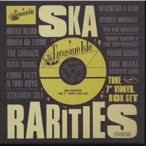 "V.A. 'Treasure Isle Ska Rarities'  10 x 7"" Box"