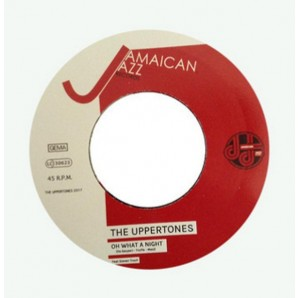 Uppertones ‎'Oh What A Night' + 'Poor Man Night'  7""