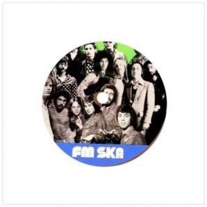 """V.A. 'FM Ska - Classic Rock Goes Jamaican'  7"""" ltd. brown vinyl"""