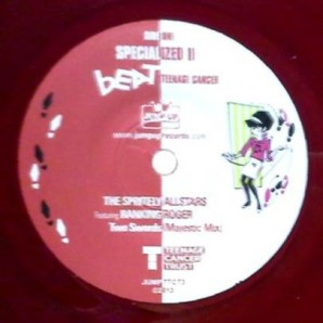 "Spritely Allstars feat. Ranking Roger 'Two Swords' + Stiff Joints 'Ackee 123'  7"" ltd. red vinyl"
