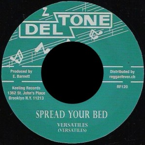 Versatiles 'Spread Your Bed' + Val Bennett 'Hound Dog Special'  7""