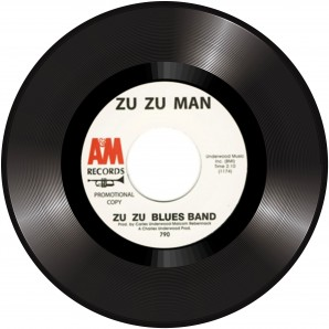 Zu Zu Blues Band 'Zu Zu Man' + Robert John 'Raindrops, Love & Sunshine'  7""