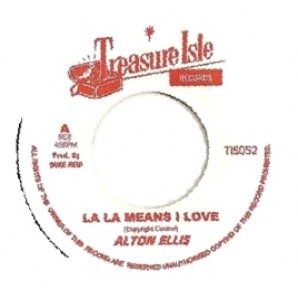 Ellis, Alton 'La La La Means I Love You'  + Melodians 'Passion Love'  jamaica 7""