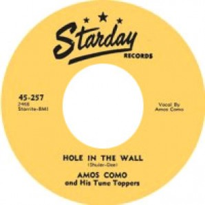 Como, Amos And His Tune Toppers 'Hole In The Wall' + 'Heartbroken Lips'  7""