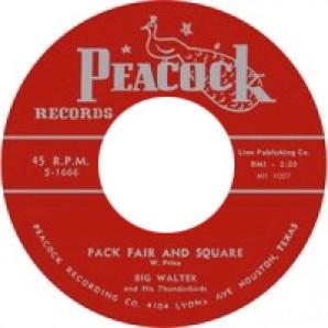 "Big Walter 'Gamblin' Woman' + 'Pack Fair & Square'  7"""