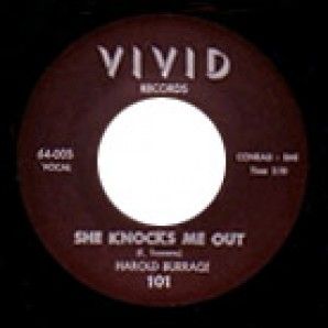 Burrage, Harold 'She Knocks Me Out' + 'A Heart'  7""