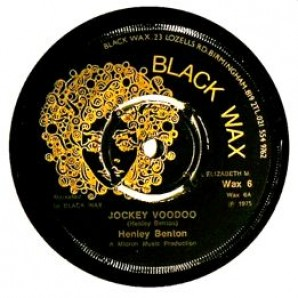 "Benton, Henley 'Voodoo Jockey' + 'Version'  7"""