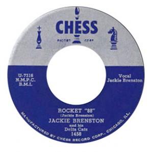 "Brenston, Jackie 'Rocket '88'' + 'Come Back Where You Belong'  7"""