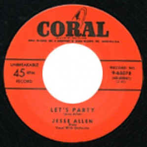 "Allen, Jesse 'Let's Party' + Carter, Goree 'I'm Your Boogie Man'  7"""