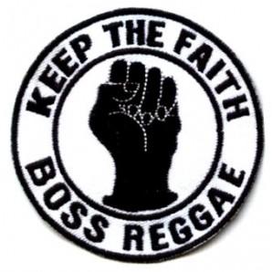 patch 'Boss Reggae - Keep The Faith'