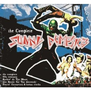 Sunny Domestozs 'The Complete'  CD Digipack
