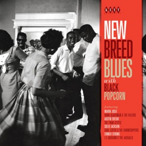 V.A. 'New Breed Blues With Black Popcorn'  CD
